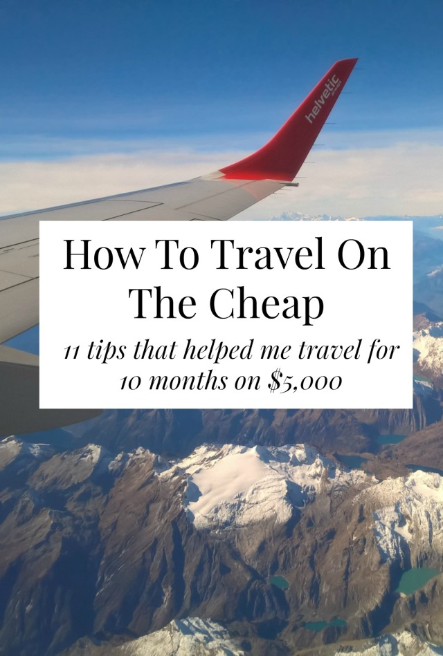 Travel for cheap with these cheap travel tips