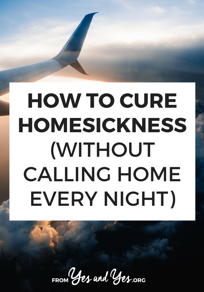 How to cure homesickness - tips about getting rid of homesickness when traveling abroad