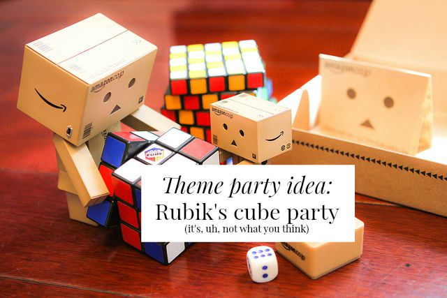 Fun theme party ideas you've really, truly never encountered before. A toast party? A 'What I wanted to be when I grew up' party? Click through for help planning your next theme party!