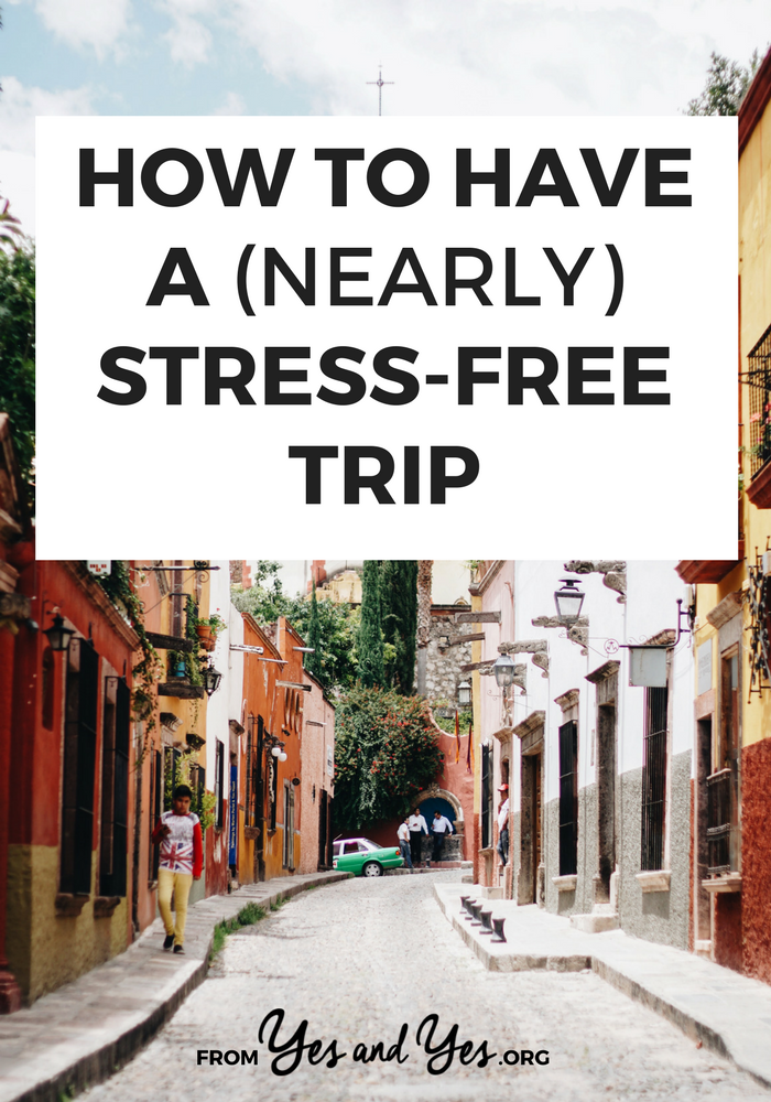 Sooo many good tips to help make travel less stressful! Particularly useful if you're traveling international or in developing countries