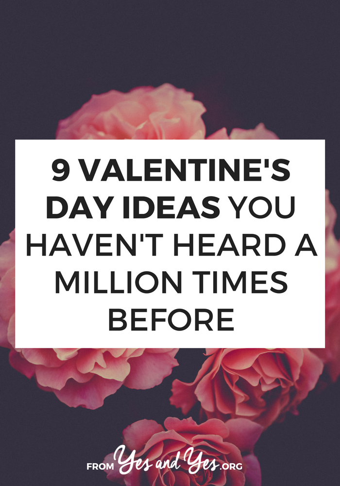 Looking for Valentine's Day ideas? Or romantic ideas for your anniversary? Click through for 9 great ideas your partner will love!