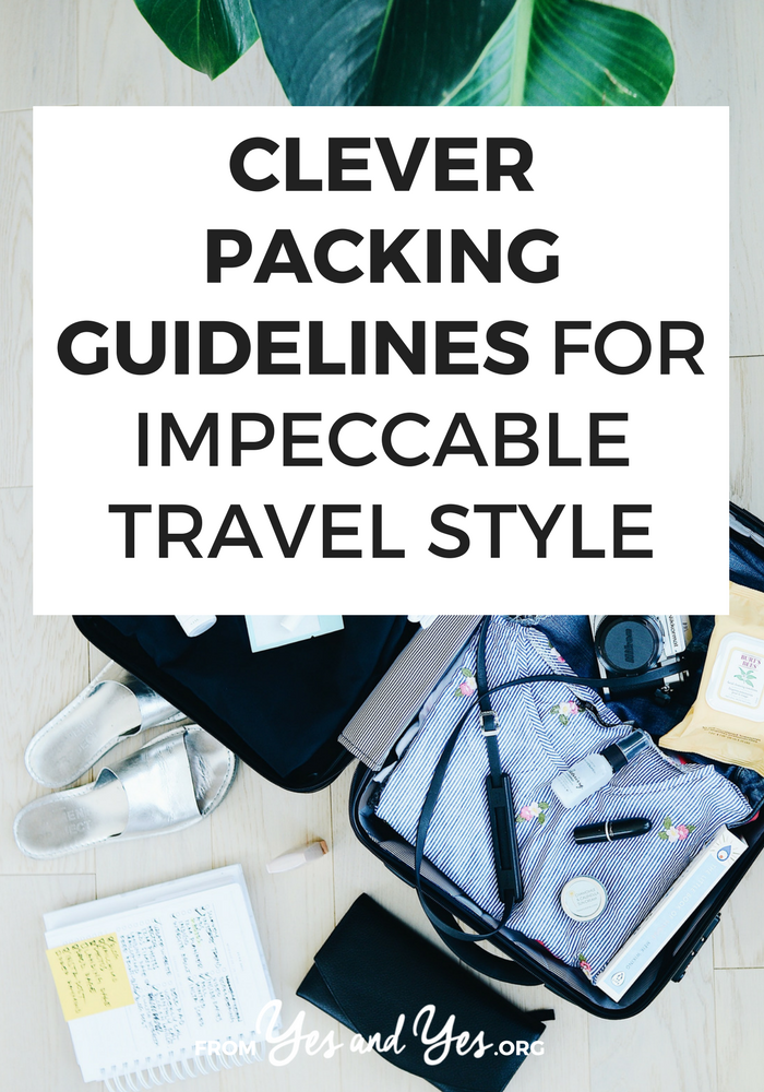 Looking for packing guidelines that will help you look cute AND stay comfortable while you travel? Click through for a fashion blogger's best packing and travel style tips!
