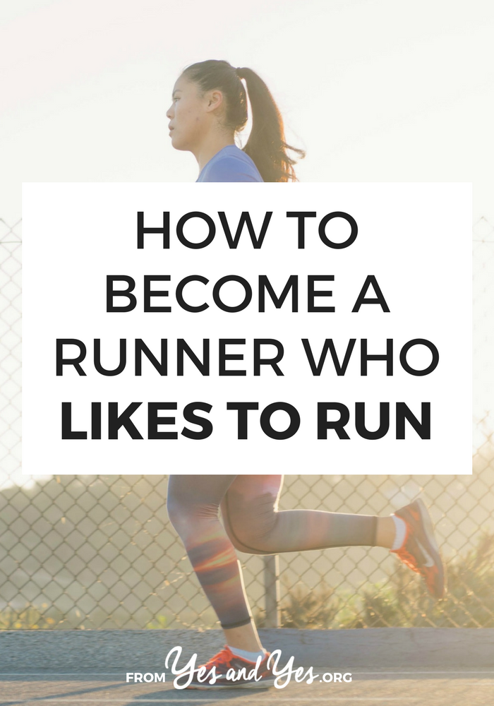 Can you become someone who likes to run? How do you become a runner? Click through for running tips from a marathoner who was once placed in remedial gym class!