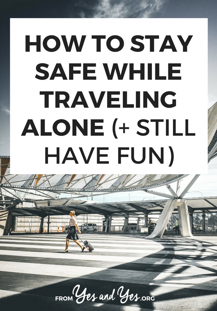 Are you a solo traveler? Are you concerned about staying safe while traveling alone? I've traveled to 36 countries - most of them on my own. Click through for my best solo travel safety tips!