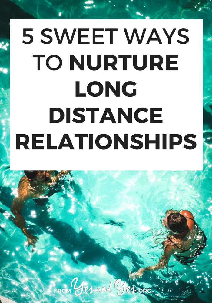 Do you want to nurture a long distance relationship? Whether it's familial, platonic, or romantic, these long distance relationship tips will help!