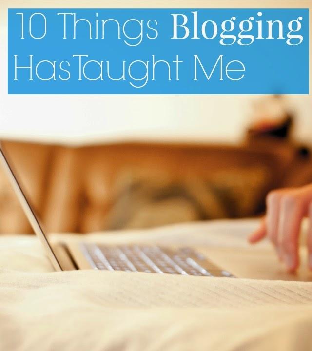 blogging taught me