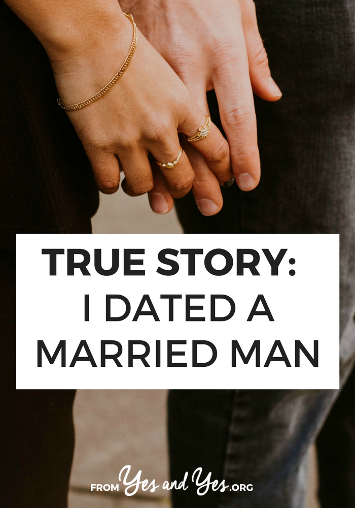 Successfully dating a married man