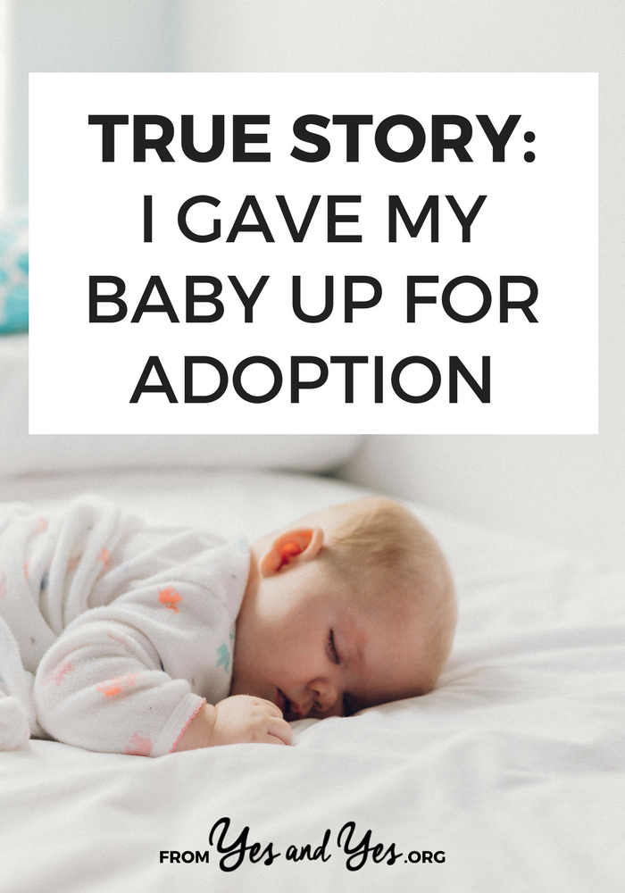 What would it be like to give your baby up for adoption? An important read about unplanned pregnancies and for adoptive parents. Click through to read one woman's story