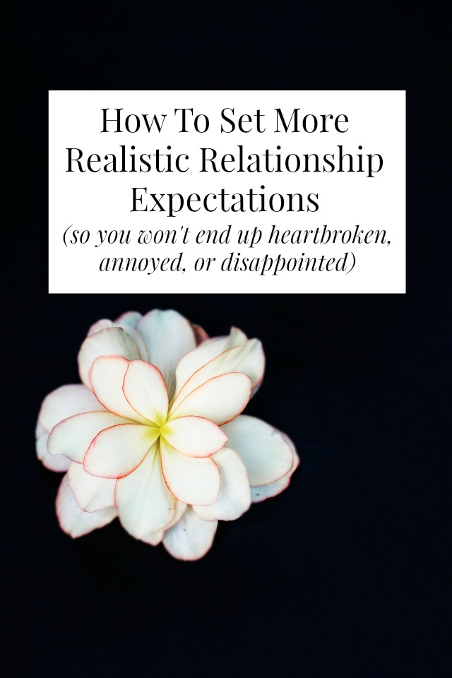 realistic relationship expectations