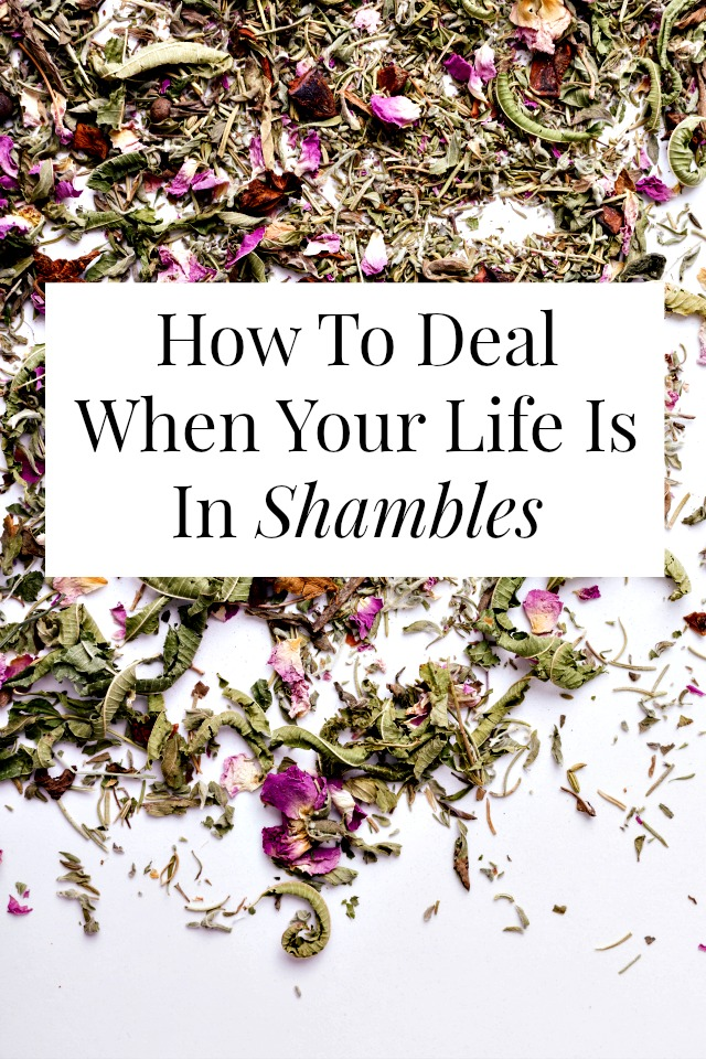 We all go through rough patches and everyone's life is (occasionally) in shambles. In this post we work through 13 doable, life-turn-around-ing things you can to today. Click through for more >> yesandyes.org