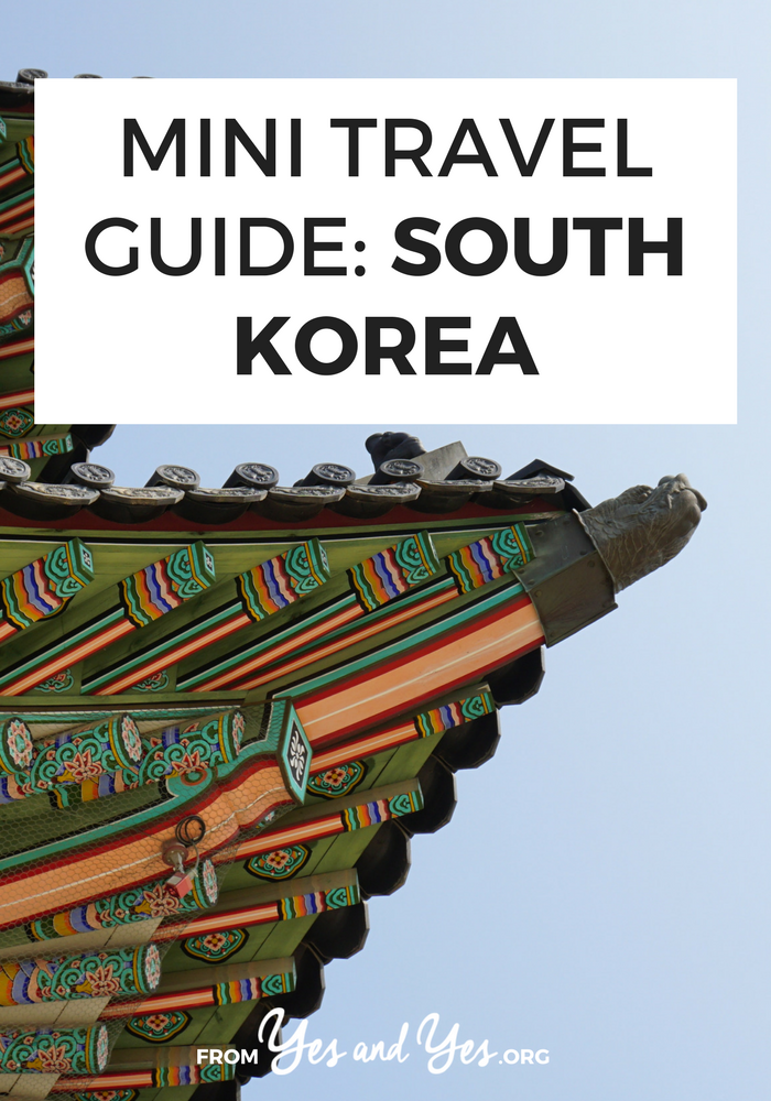 Looking for a travel guide to South Korea? Click through for Korean travel tips from a local and ideas for what to do, where to go, what to eat and how to do it all cheaply!