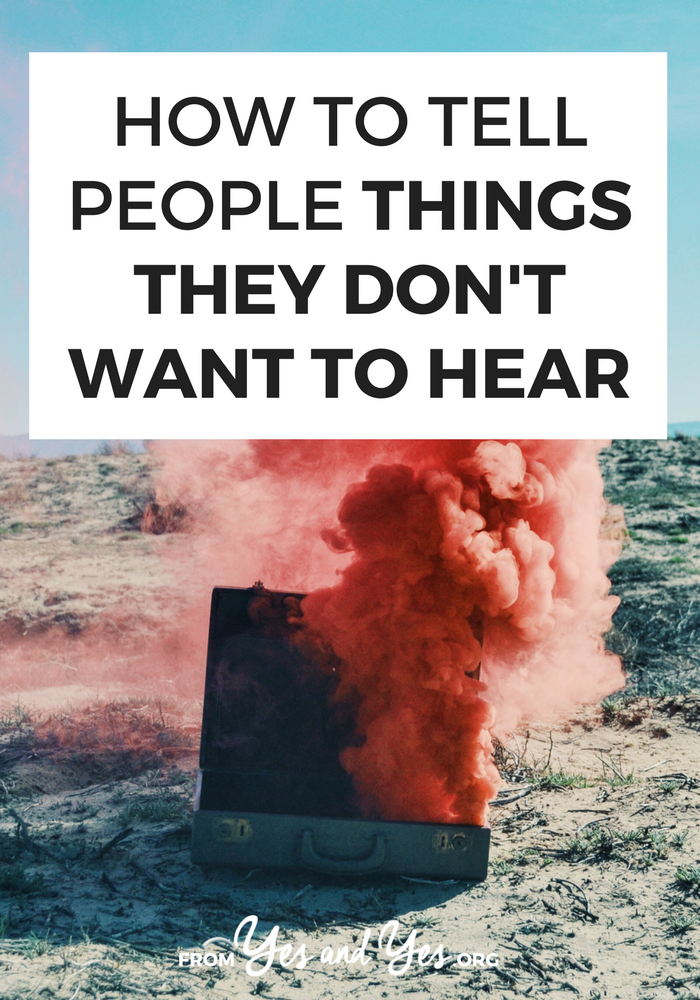 Want communication tips for awkward conversations? This one phrase makes it much, MUCH easier to tell people things they don't want to hear. Click through and find out what it is >> yesandyes.org