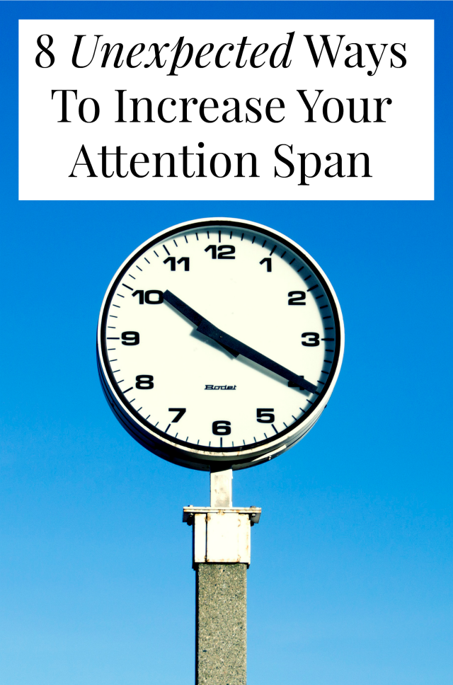 Want to increase your attention span? Don't we all? These focus tips will help you get more done and stay on task! >> yesandyes.org