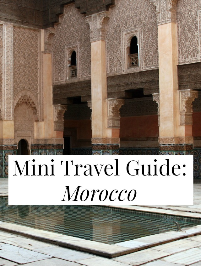 Ever been curious about Morocco? This Mini Travel Guide has everything you need to decide if this is your next vacation destination! // yesandyes.org