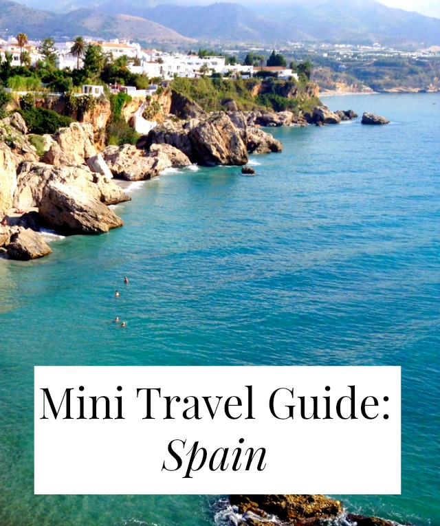 Mini Travel Guide: Spain