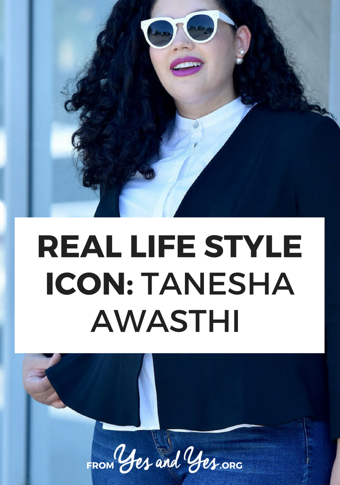 Looking for curvy style tips? Click through for a great interview and hour-glass fashion advice from Tanesha Awasthi from 'A Girl With Curves'