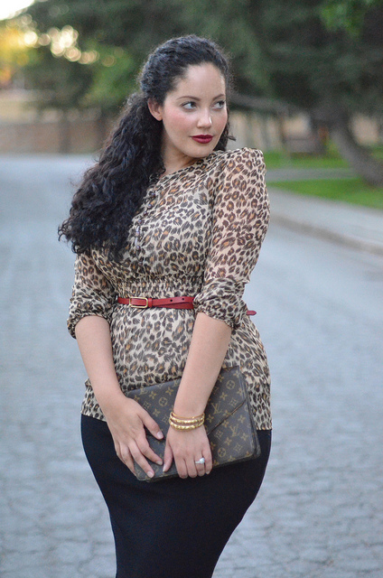 Real Life Style Icon Tanesha Awasthi Of Girl With Curves