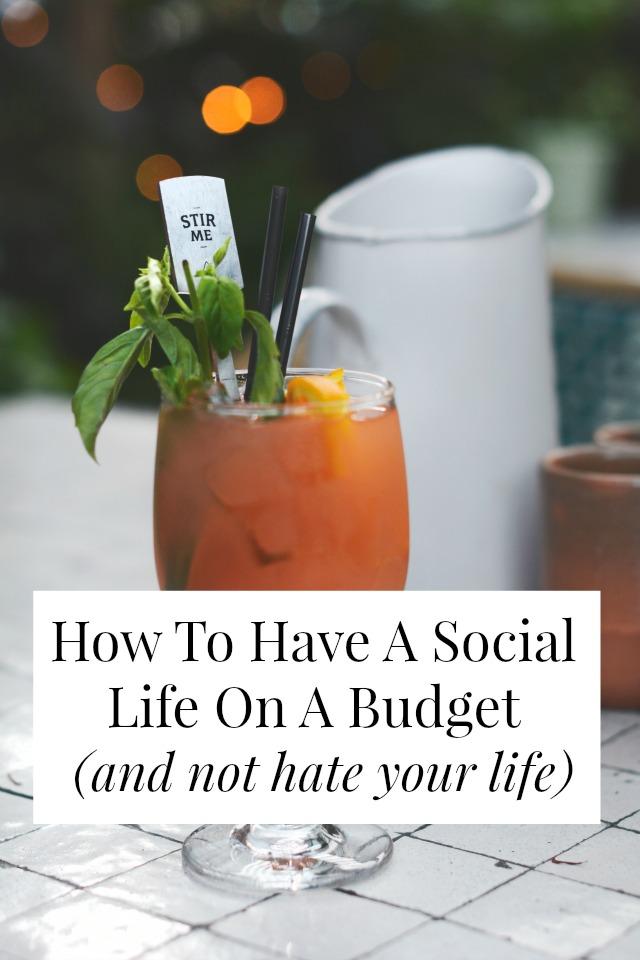 social life on a budget
