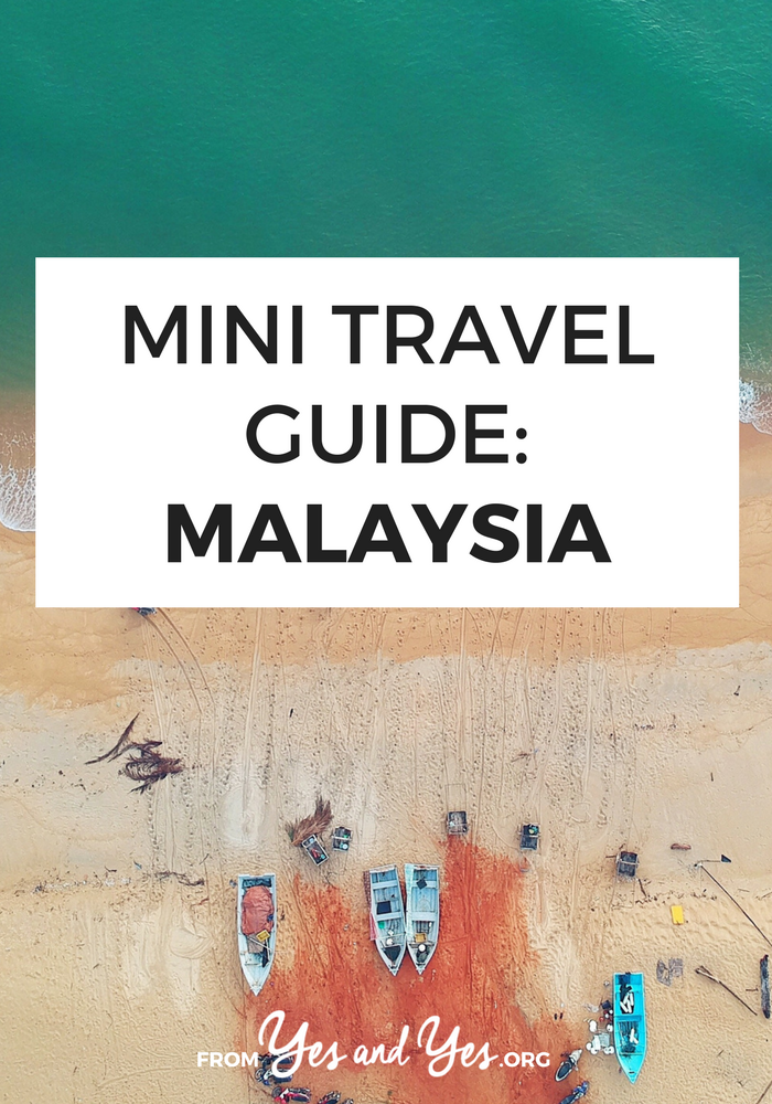 Looking for a travel guide to Malaysia? Click through for Malaysian travel tips from a local - what to do, where to go, what to eat, and how to do it all cheaply!