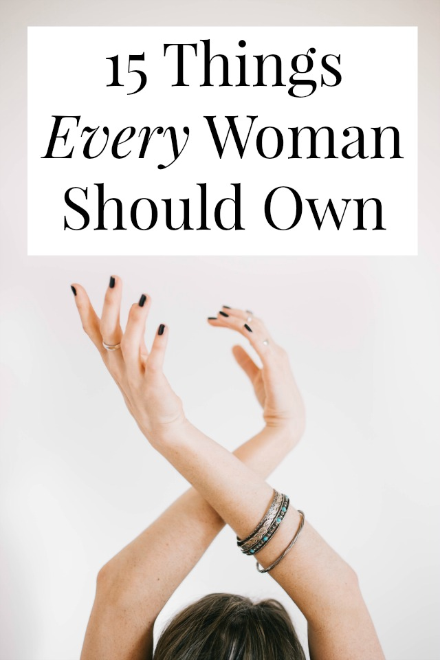 things woman should own