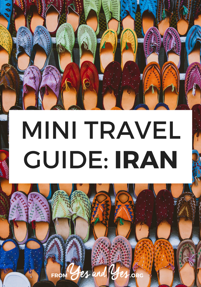 Looking for a travel guide to Iran? Click through for a local's Iran travel tips on what to do, where to go, and how to do it all cheaply, safely, and respectfully!