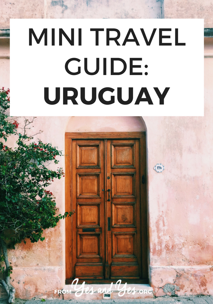 Looking for a travel guide to Uruguay? Click through for Uruguay travel tips from a local - where to go, what to do, what to eat, and how to do it all cheaply!