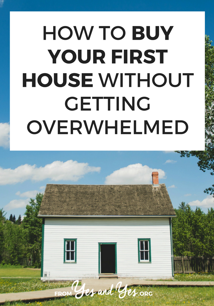 Are you try to figure out how to buy your first house? It can feel totally overwhelming! Click through for tips that will get you on the right track!