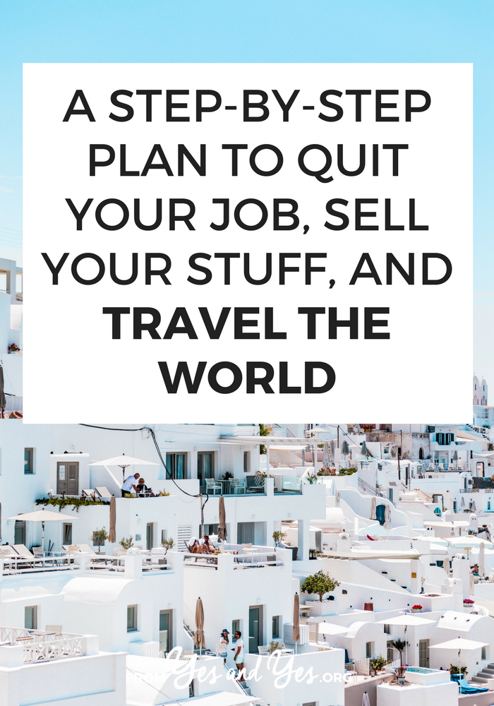 Do you want to quit your job and travel the world? It's a pretty common dream but most of us don't even know where to start? I've done it five times (!!!) Click through for a break down of all my travel tips and advice on long-term travel.