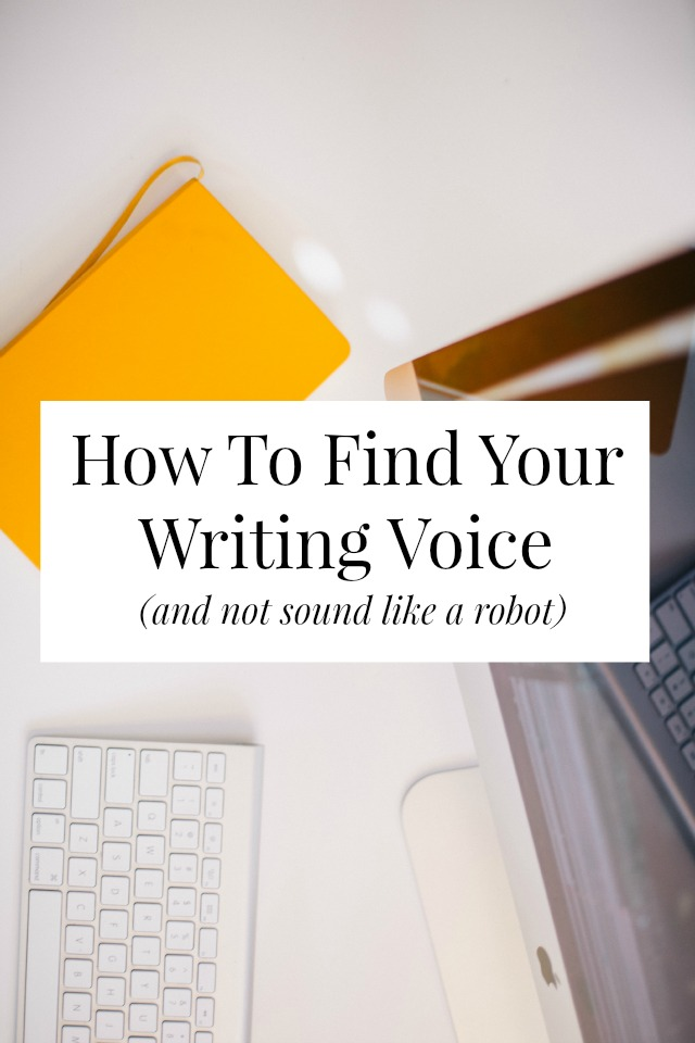 Finding your writing voice is one of the best, most important things you can do for your brand! Click through for three tips on how you can find it! // sarahvonbargen.com