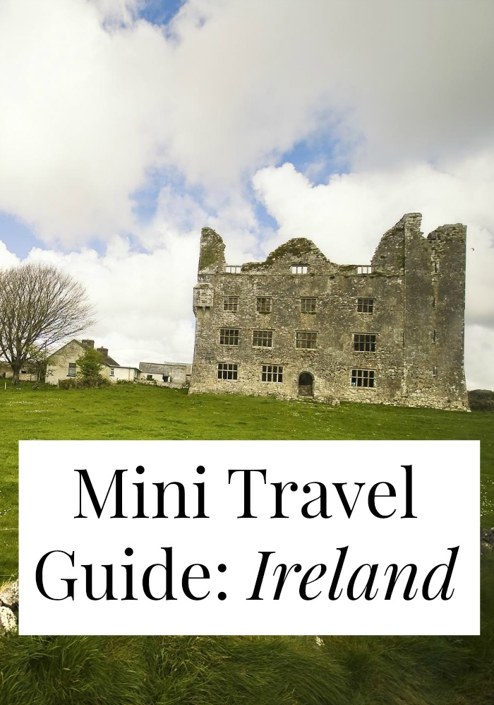 Looking for travel tips for Ireland? Look no further! We have from-a-local suggestions about what to eat in Ireland, where to go, what to do, and how to do it cheaply! Don't plan your trip to Ireland without reading this!