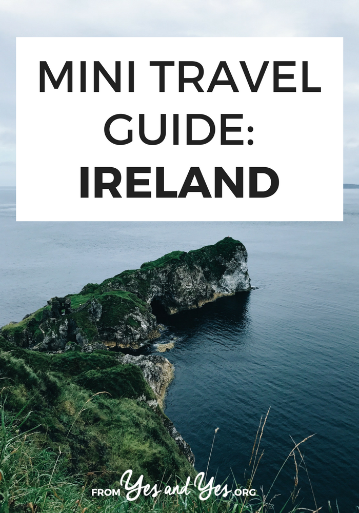 Looking for a travel guide to Ireland? Click through for Ireland travel tips from a local! Where to go, what to do, and how to travel Ireland cheaply, safely, and respectfully!