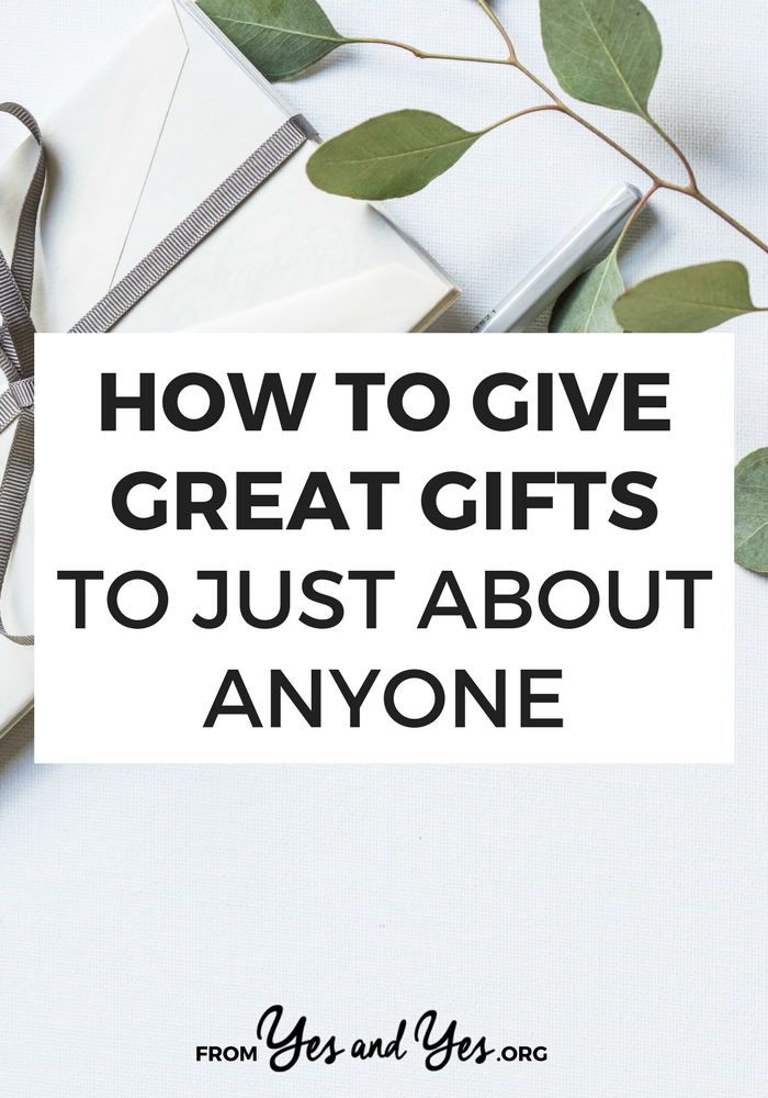 How do you give great gifts? Well, it's not just about giving them something from their gift list! Click through for gift ideas nobody else has thought of and gift-giving tips that will help with anniversaries and birthdays, too!