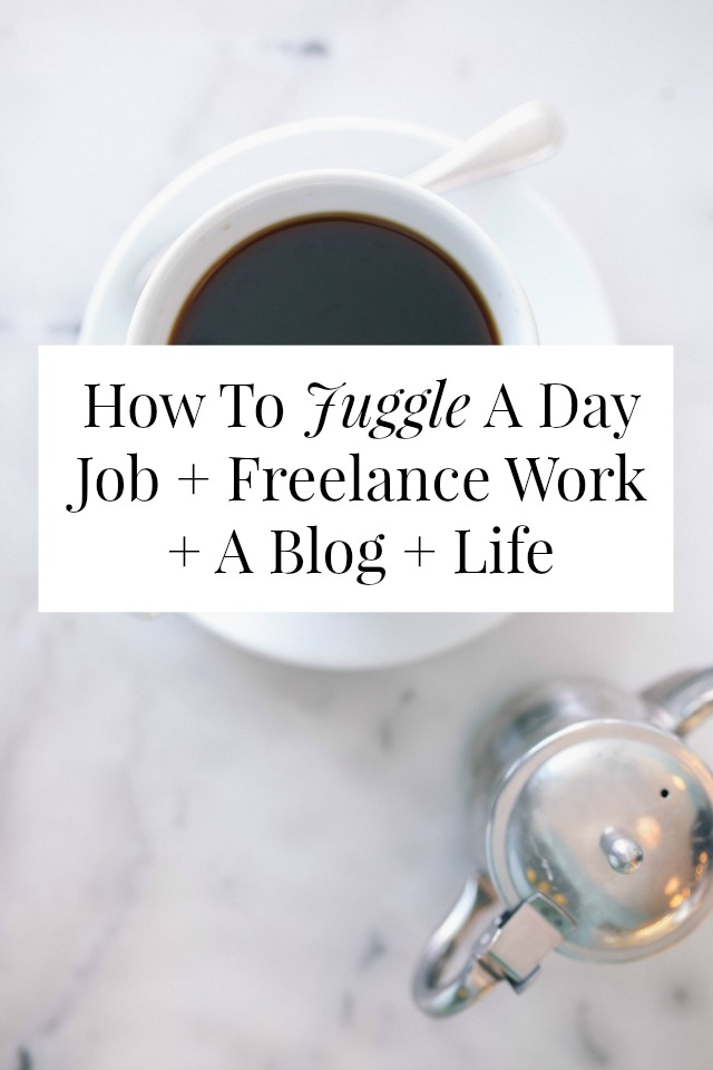 Want to know how to juggle a day job + freelance work? There's no real 'secret' but click through for 9 tips that made it (slightly) easier for me! // sarahvonbargen.com