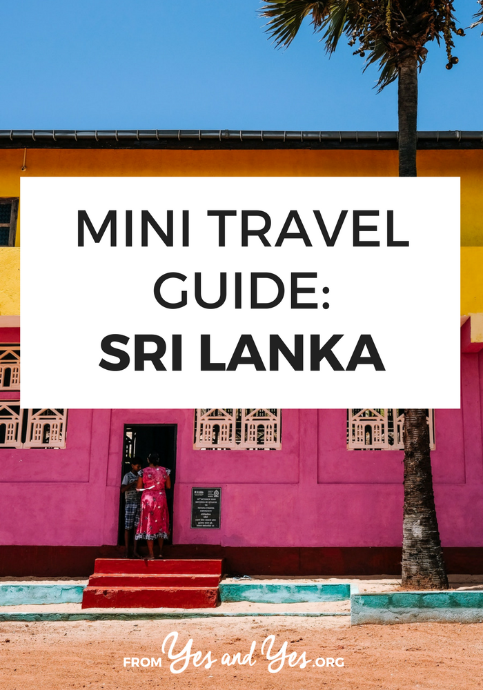 Looking for a travel guide to Sri Lanka? Click through for Sri Lanka travel tips from a local - what to do, where to go, and how to travel Sri Lanka safely, cheaply, and respectfully!