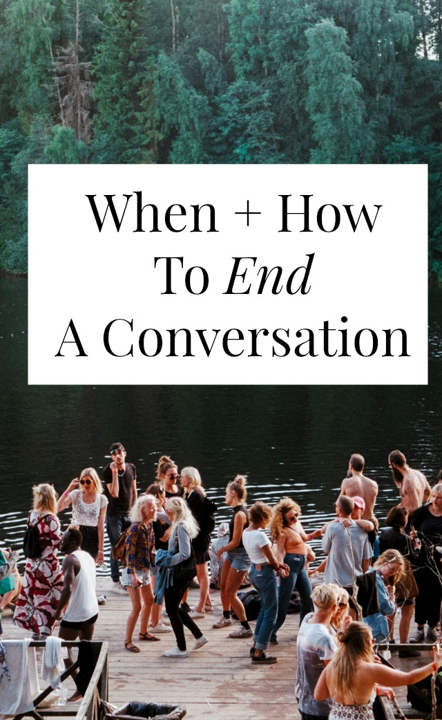 Trying to brush up on your conversation tips? Feeling a little socially awkward? Exiting conversations can be weirdly hard! This will help >> yesandyes.org