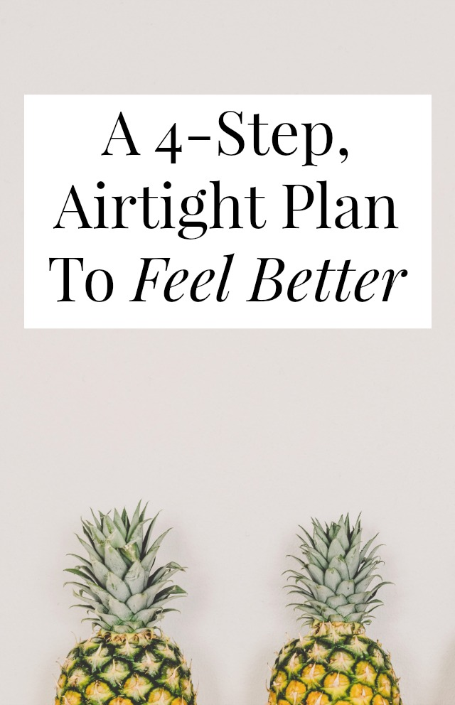 Want to feel better? Getting out of a slump, getting past a bad mood, almost anything can be cure (at least temporarily) with these 4  steps >> yesandyes.org