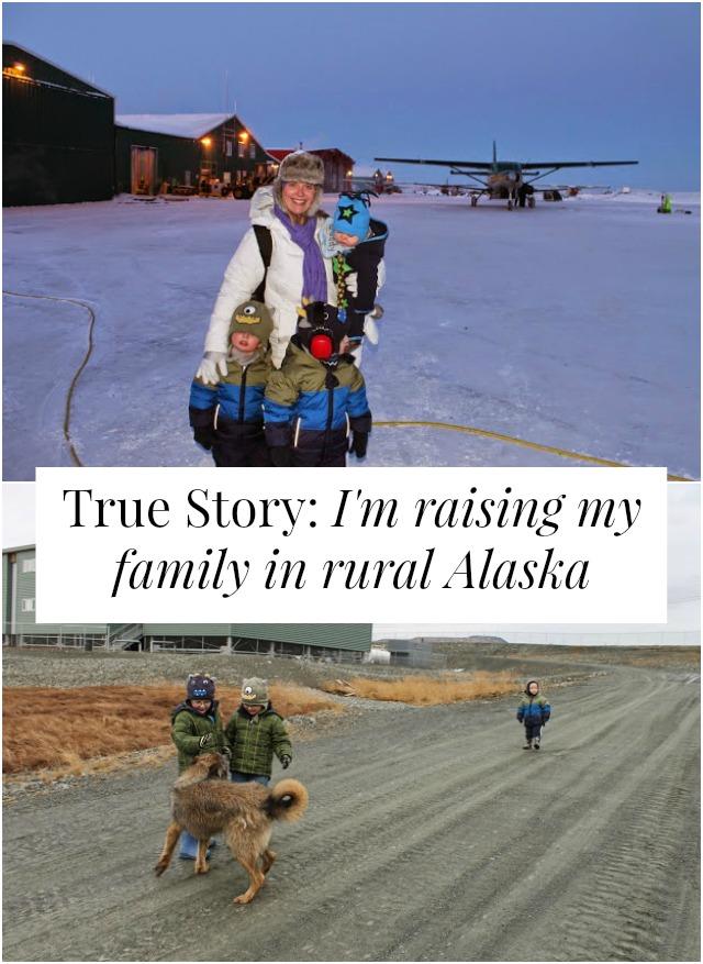 family rural Alaska