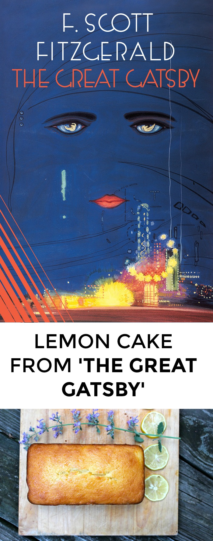 Looking for an amazing recipe from The Great Gatsby? Look no further! Win your next book club meeting with this gorgeous, tart lemon cake. >> yesandyes.org