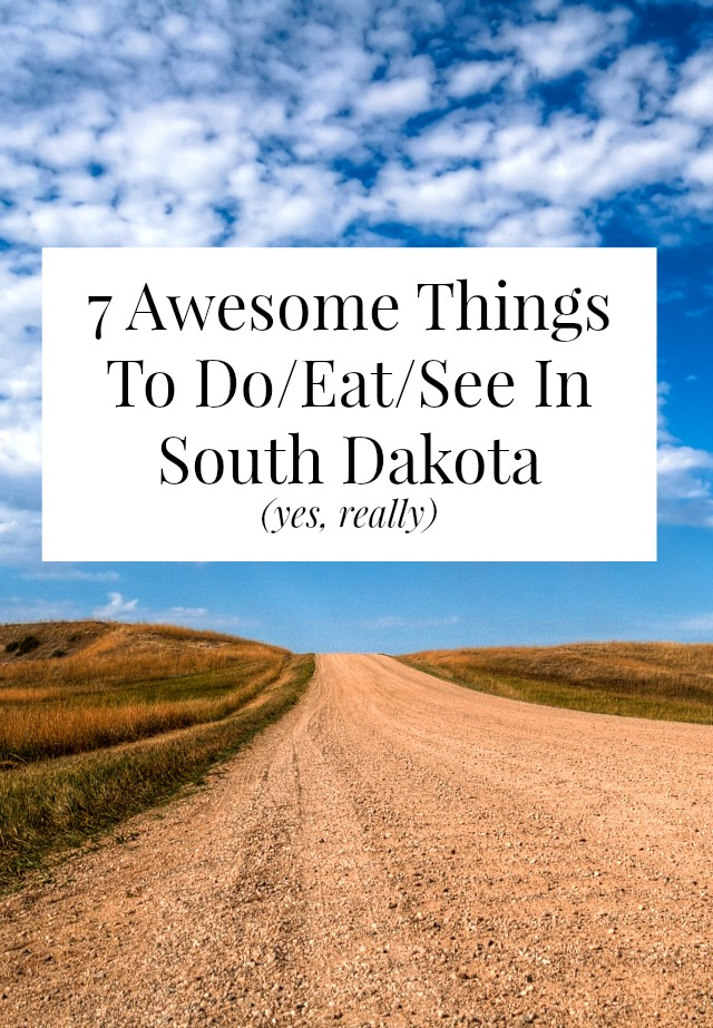 Yes, there really are tons of fun things to do in South Dakota - eat bison burgers, dig for dinosaur bones, hike the badlands! // yesandyes.org