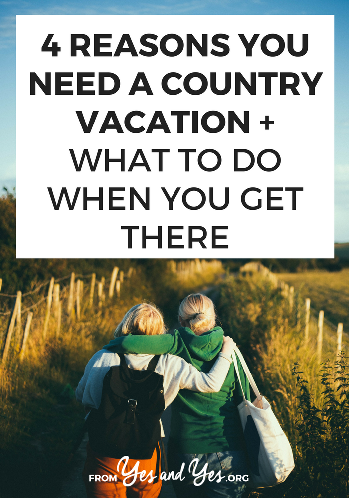 Considering a country vacation? Rural travel destinations are fun, cheap, and a lot more laid back. Click through for fun country vacation ideas!