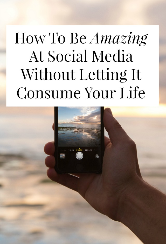 Want social media tips that won't ruin your life? Want an engaged social media following AND enough time and energy to still have a life? Click through for sane, doable social media advice!