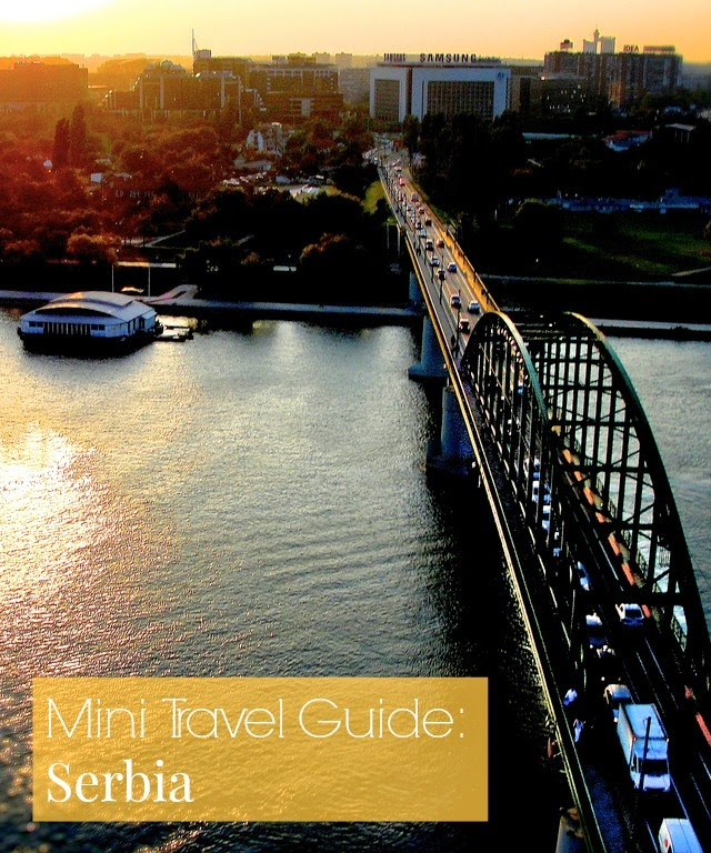 Travel guide Serbia