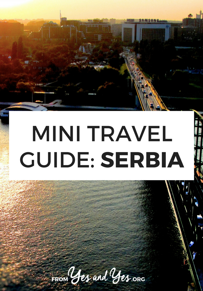 Looking for a travel guide to Serbia? Look no further! Click through for from-a-local insights on where to go, what to do, what to eat, Serbian cultural tips, and cheap travel ideas!
