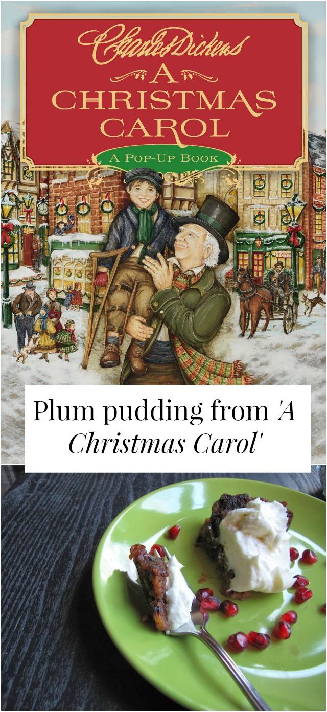 plum pudding a christmas carol