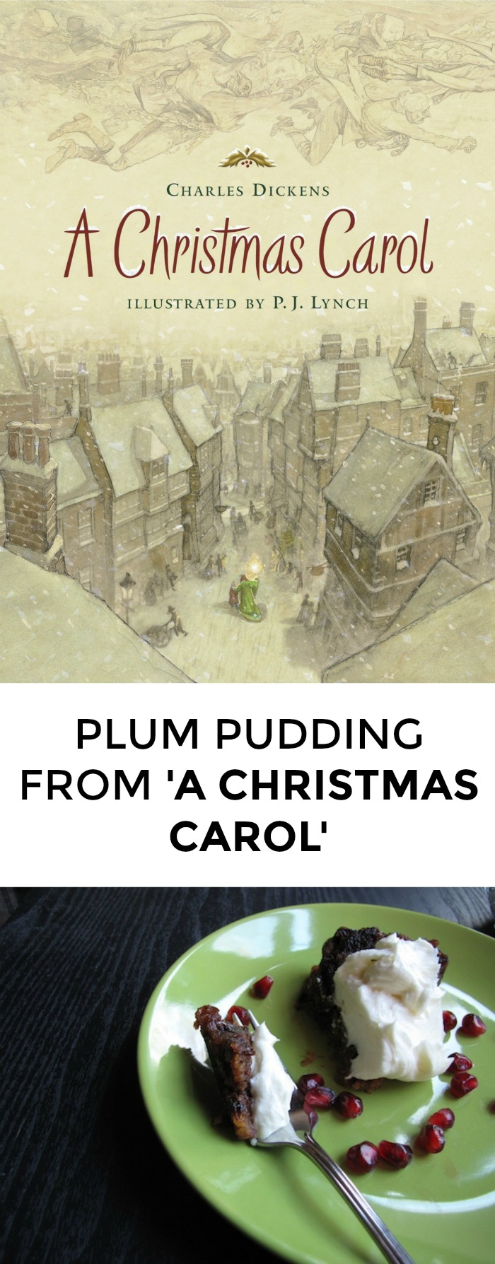 A great plum pudding recipe in honor of A Christmas Carol. Super fun to make with kids! // yesandyes.org