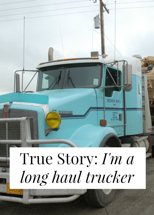 interview long haul trucker