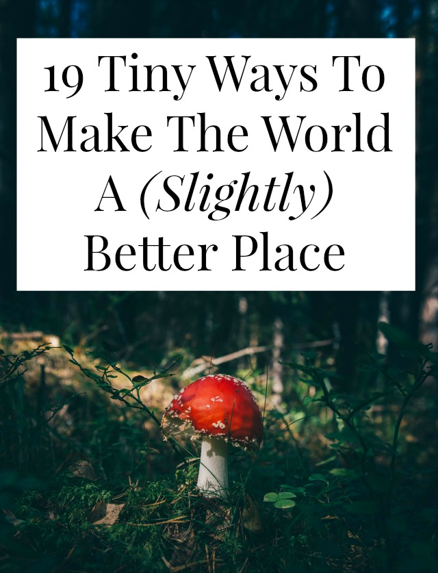 making the world a better place to live essay Honestly speaking, i don't know if i could write about how to make the world a better place in fact, the world is huge, and my perspective is way too small to.