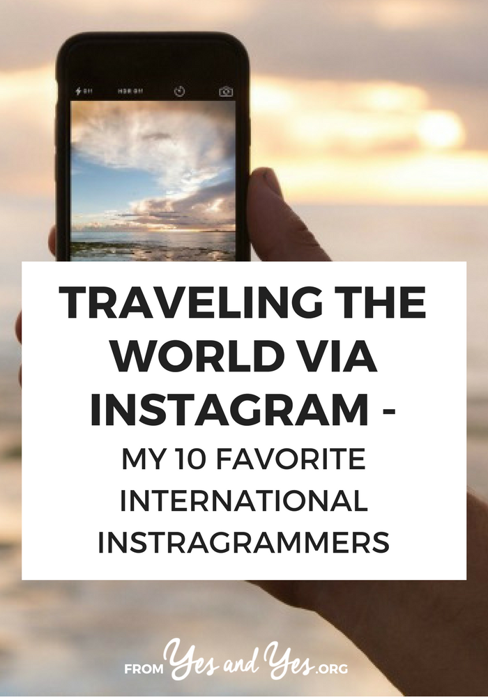 These international Instagrammers will help you travel the world via Instagram, learn about different cultures, and whet your wanderlust. Click through for great travel profiles to follow!