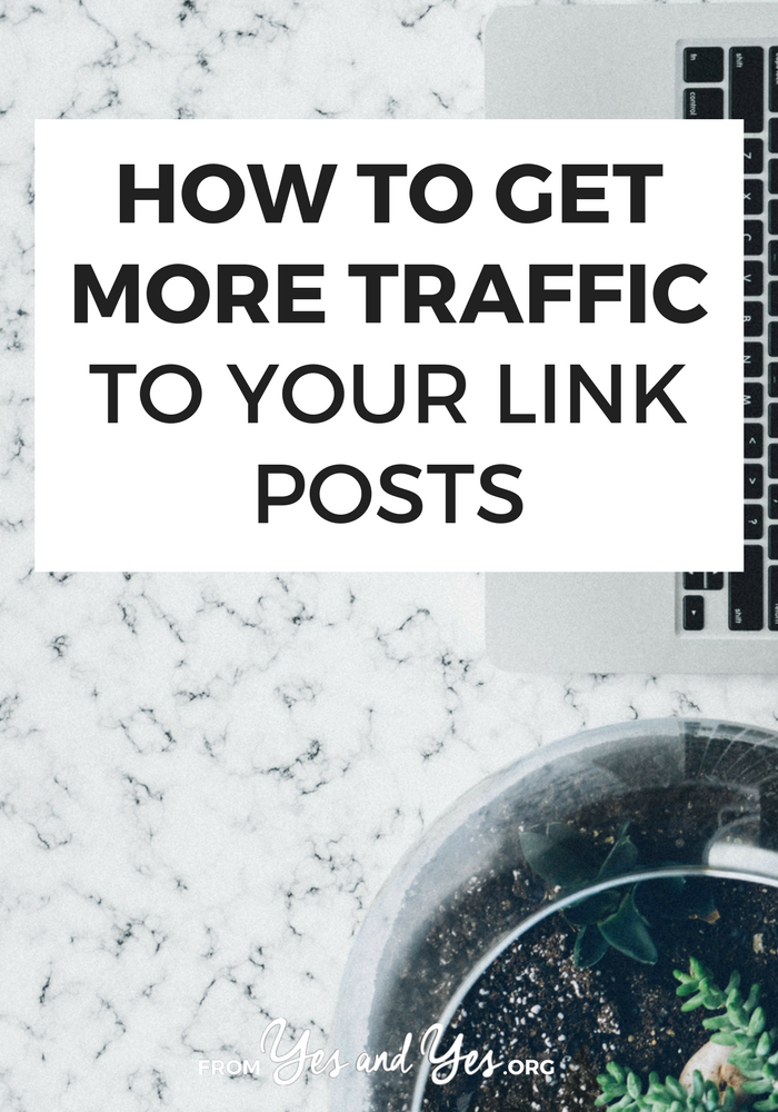 Do you put together link posts on your blog? Big roundups of links to other sites? Use link posts to increase site traffic and network! Click through for how to