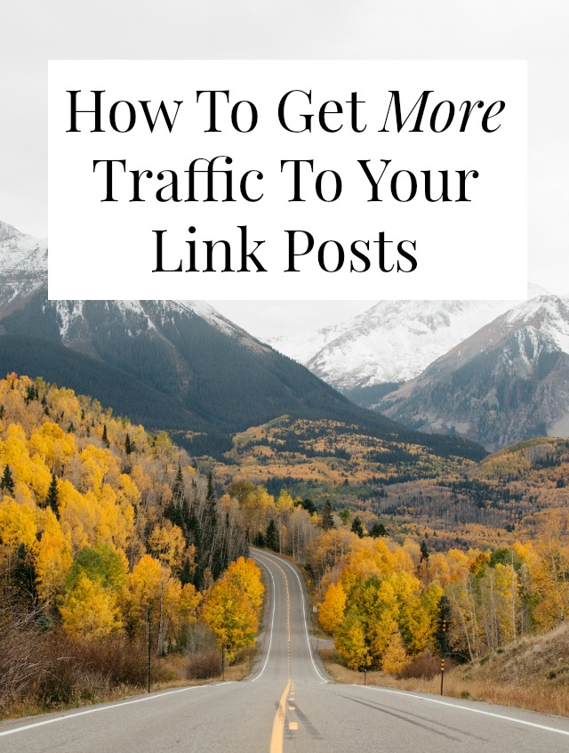 Just about every blogger runs link posts, but are they getting as much traffic as they could? Click through for 10 tips to bring your traffic waaaay up! // sarahvonbargen.com